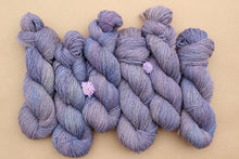 Load image into Gallery viewer, Variegated Purple Hand-dyed Yarn - 2ply - Sport Weight