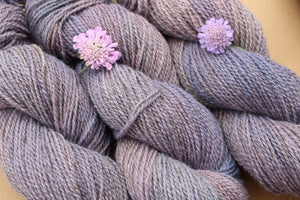 Variegated Purple Hand-dyed Yarn - 2ply - Sport Weight