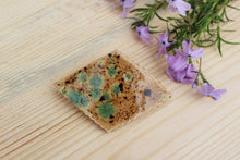 Load image into Gallery viewer, Ceramic Barrette-Brown/Blue