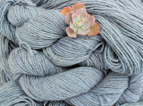 Hand-dyed Sport Weight Yarn - Periwinkle