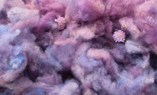 Load image into Gallery viewer, Hand-dyed Border Leicester Wool - Picked and Dyed Wool - 1 OZ