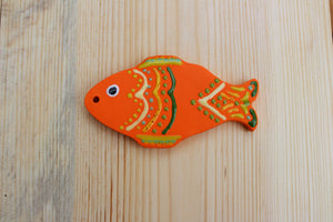 Decorative Ceramic Fish Ornament