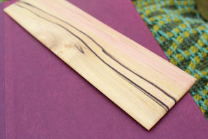 Spalted Poplar Bookmark