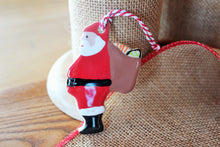 Load image into Gallery viewer, Ceramic Santa Claus Ornament