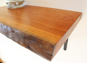 Live Edge Cherry Shelf