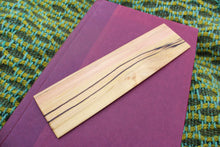 Load image into Gallery viewer, Spalted Poplar Bookmark