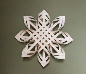 Large Swedish Advent Star - Natural Woven Star