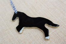 Load image into Gallery viewer, Black Stallion Ornament