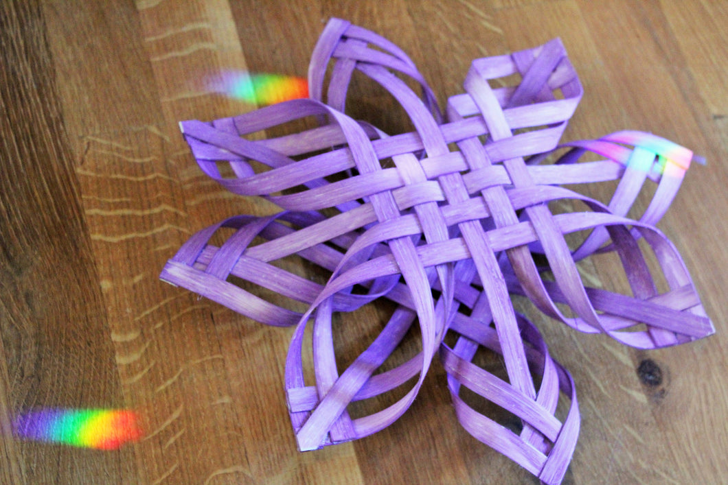 Winter Solstice Star - Purple Swedish Advent Star