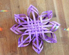 Load image into Gallery viewer, Winter Solstice Star - Purple Swedish Advent Star