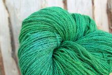 Load image into Gallery viewer, Hand dyed Sport Weight Yarn - Kelly Green + Blue