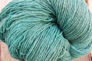 Hand-dyed Sport Weight Yarn - Aquamarine