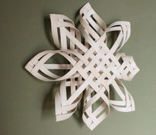 Load image into Gallery viewer, Large Swedish Advent Star - Natural Woven Star