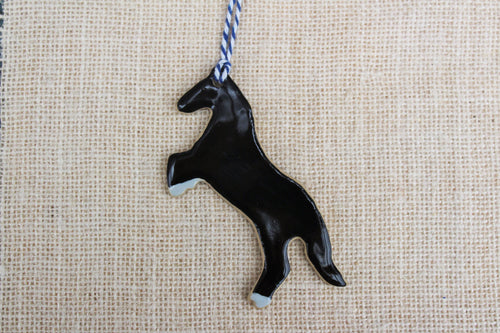 Black Stallion Ornament (1)