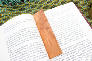Cherry Wood Bookmark
