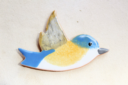 Blue Bird Magnet - Bird Magnet