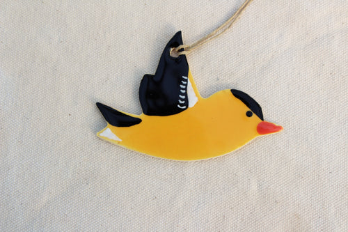 Goldfinch Bird Ornament