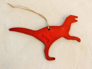 Dinosaur Ornament - Leaellynasaurus Ornament