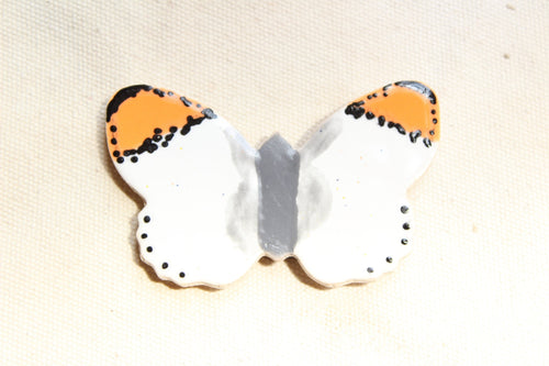 Butterfly Magnet - Sara Orangetip Butterfly Magnet