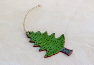 Tree Ornament - Decorative Pine Tree Ornament