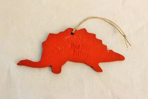 Dinosaur Ornament - Stegosaurus Ornament