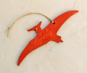 Dinosaur Ornament - Pterodactyl Ornament