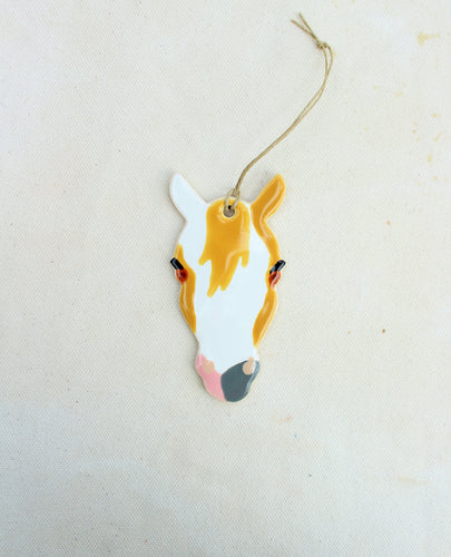 Paint Horse Ornament - Hand Painted Horse Ornament