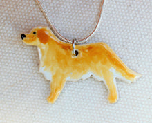 Load image into Gallery viewer, Custom Dog Necklace - Personalized Pet Jewelry - Custom Made Animal Jewelry - Custom Dog Gifts - Personalized Dog Necklace - Pet Memorial