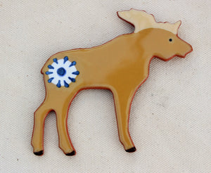 Moose Magnet - Ceramic Moose Magnet