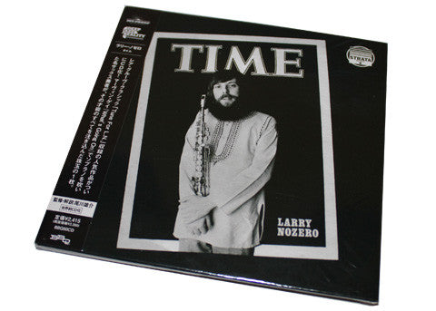 Larry Nozero - Time (Special Limited Edition Japanese CD)