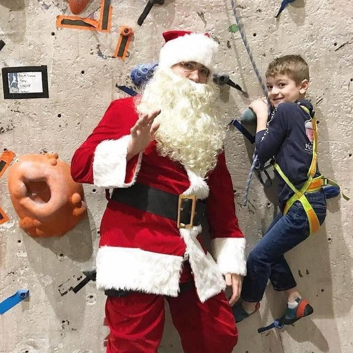 Climb with Santa at Kendall Cliffs
