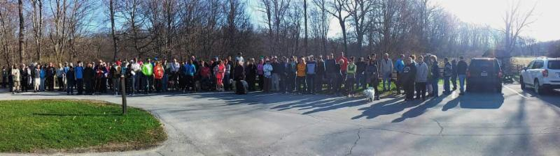 Group of hikers at Appalachian Outfitters hiking series