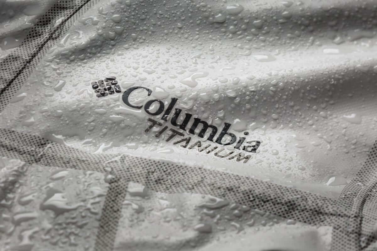 Columbia Rain Jacket Outdry Extreme Eco beaded water
