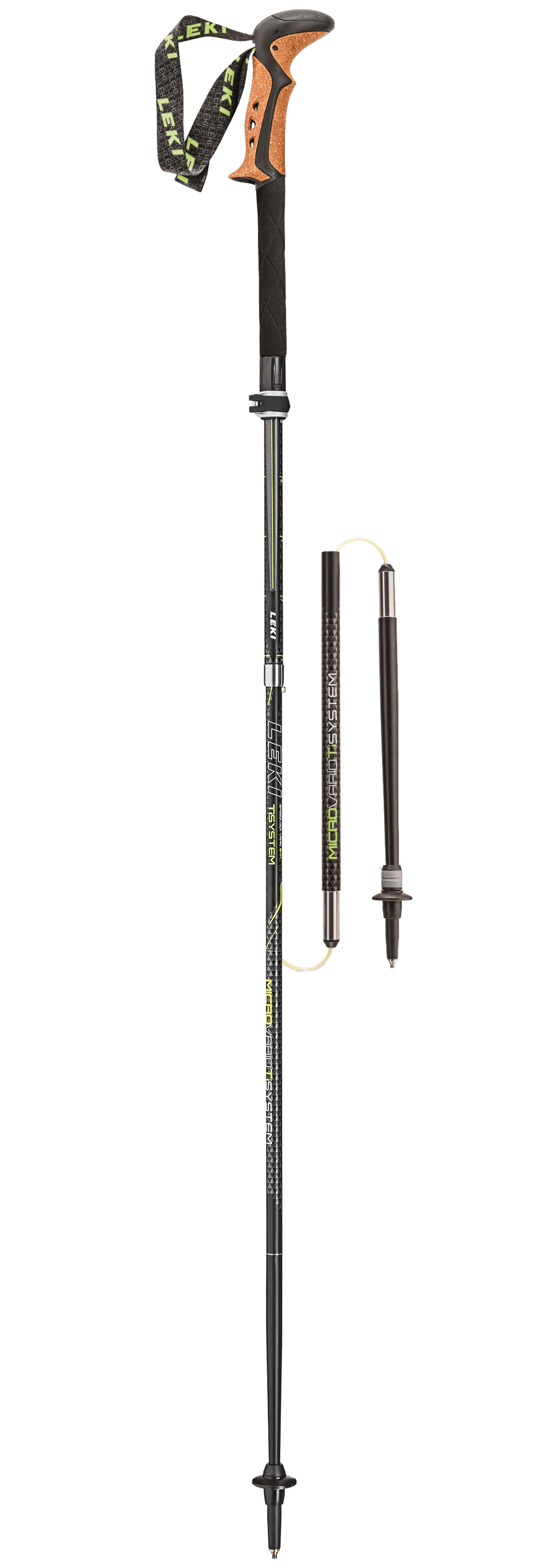 Leki Trekking Pole with shock absorbents