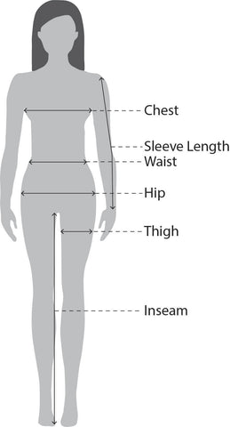 Women's Size Measurments