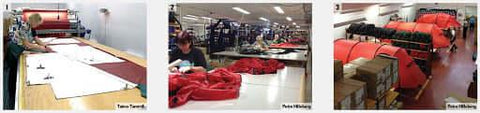 Inside the Hilleberg factory