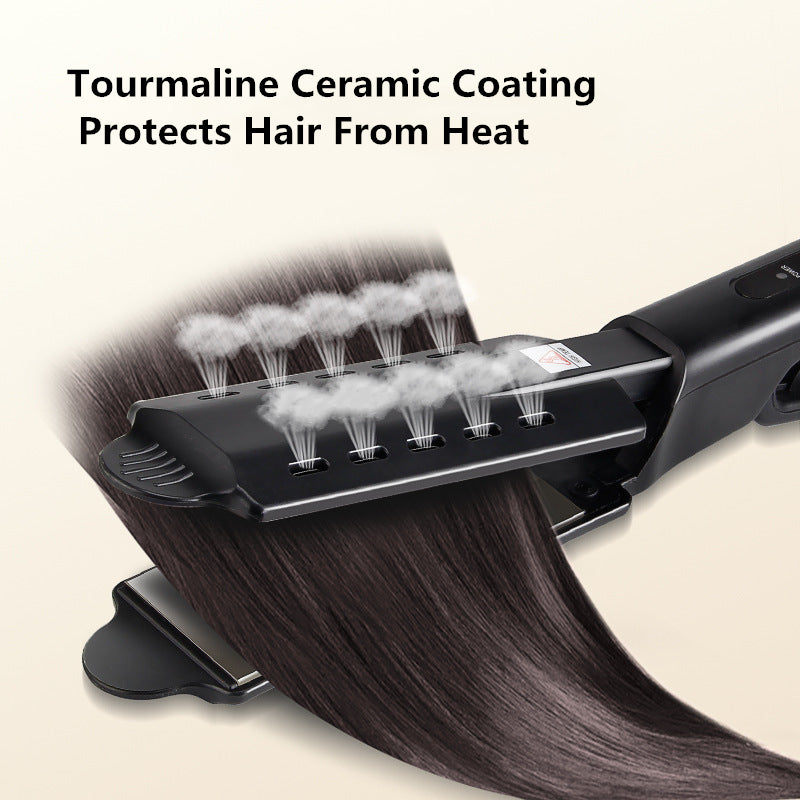 【Hot sale】Ceramic Tourmaline Ionic Flat Iron Hair Straightener