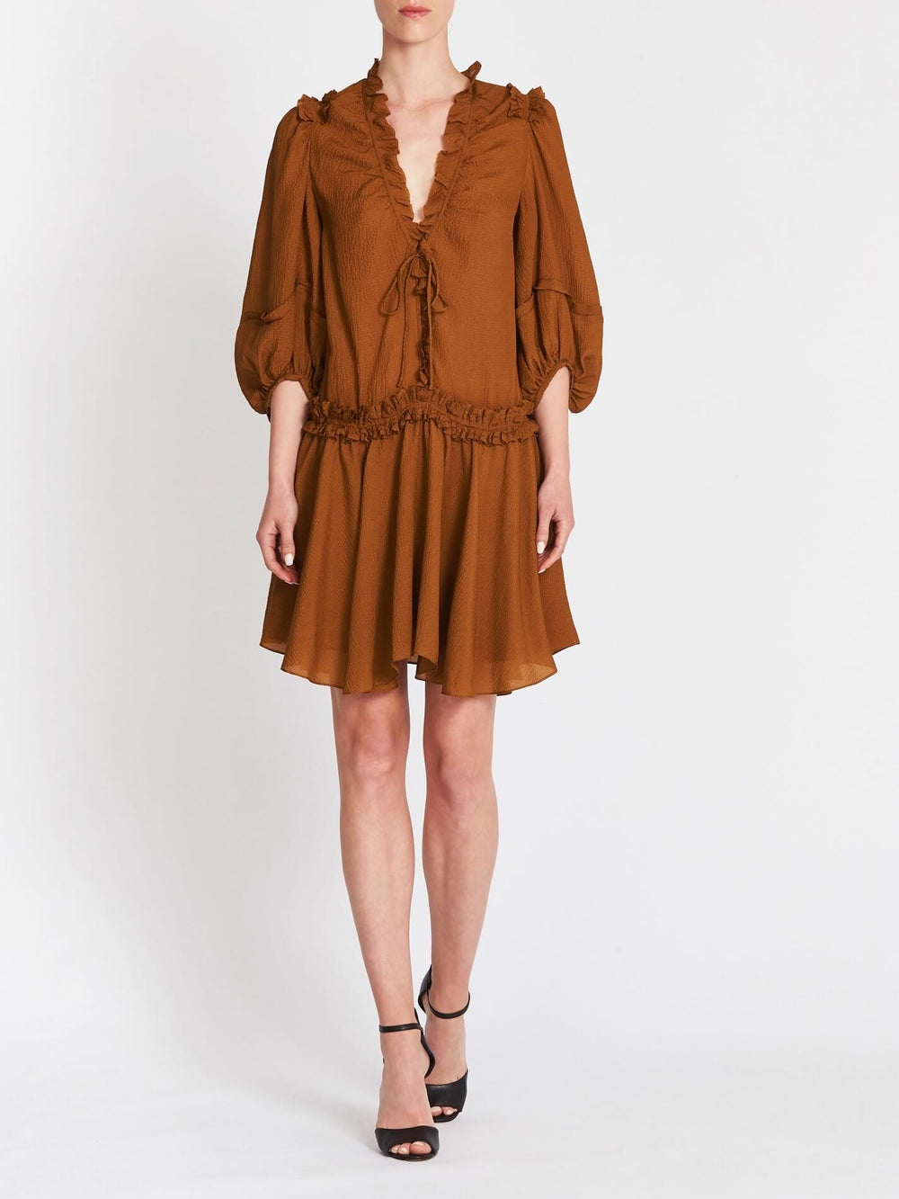 The Lexie Silk Dress by CAMILLA AND MARC