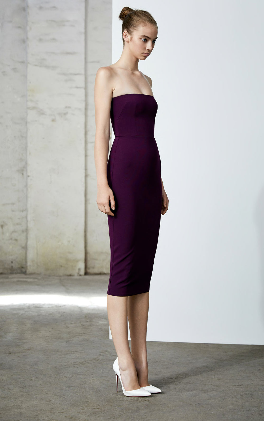 The Alex Perry Ryan Stretch Strapless Dress at Maximillia eBoutique.