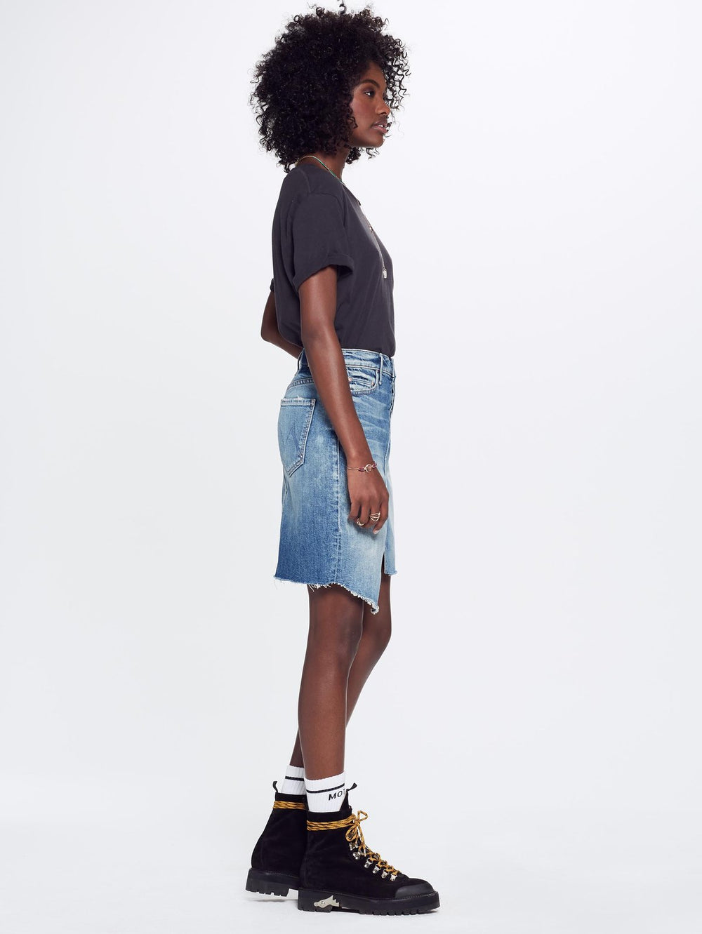 Tomcat Slide Mini Fray Skirt - Better When It's Wrong