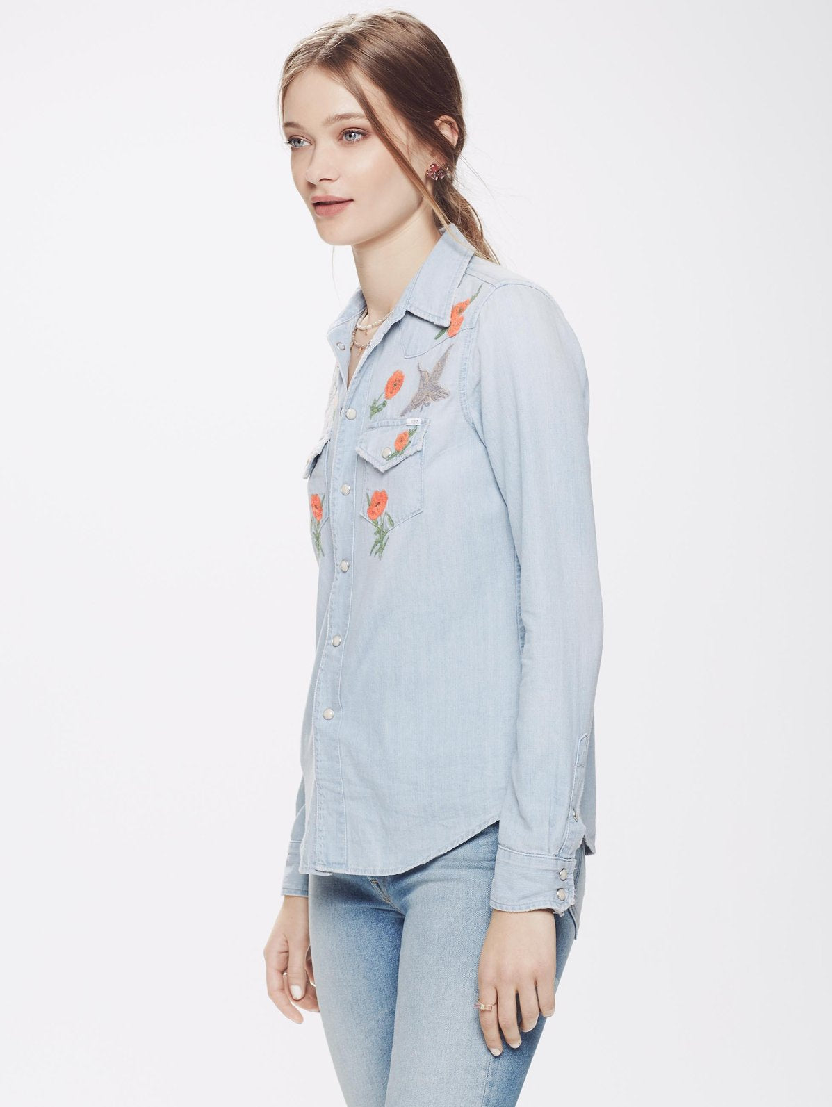 fbd1bd6ad40 All My Ex s Shirt - Love In An English Garden by Mother Denim ...