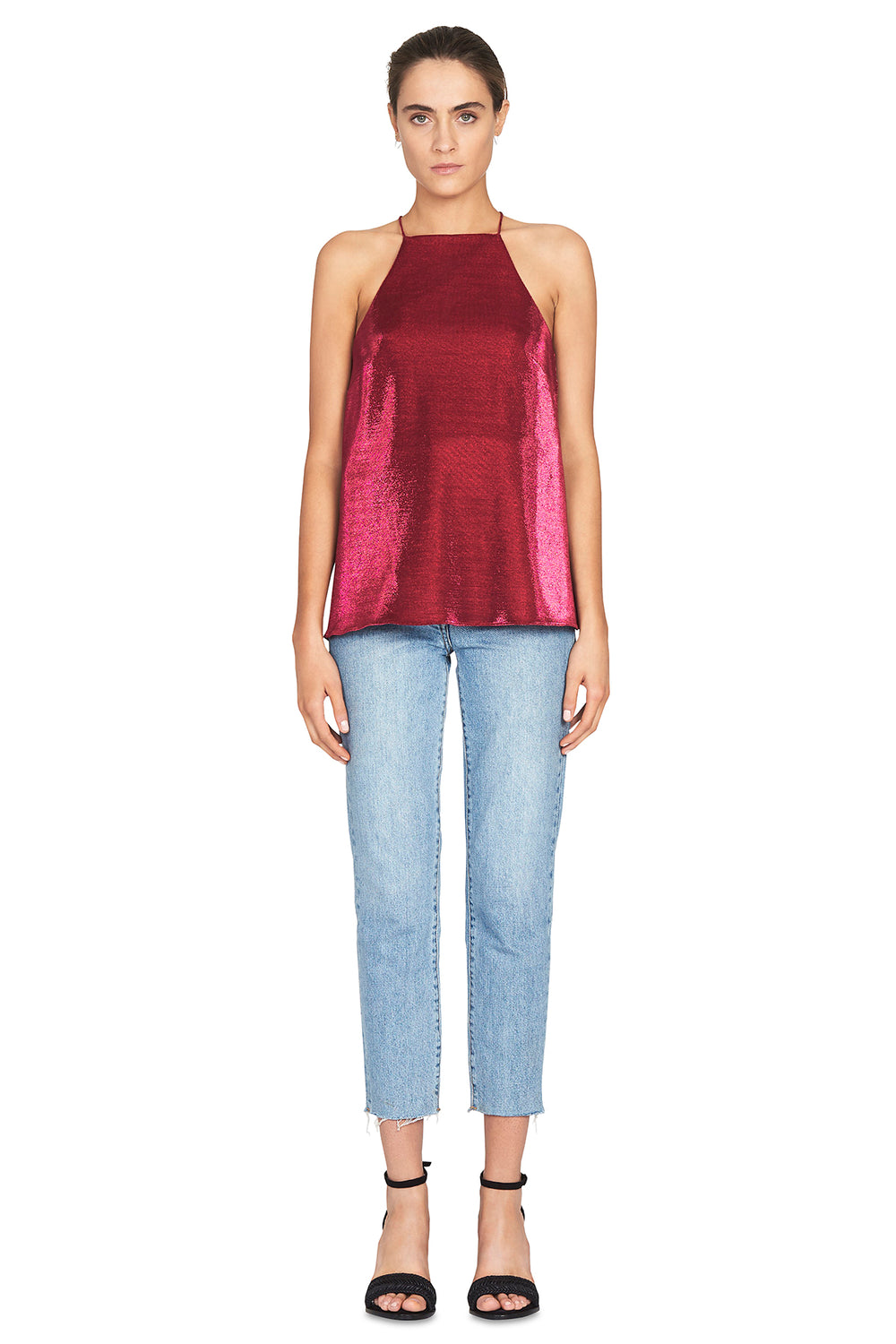 The Opasidy Top in Raspberry by CAMILLA AND MARC