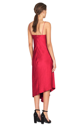 Sirocco Slip Dress - Raspberry