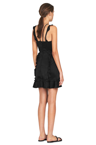 Sentry Mini Dress - Black