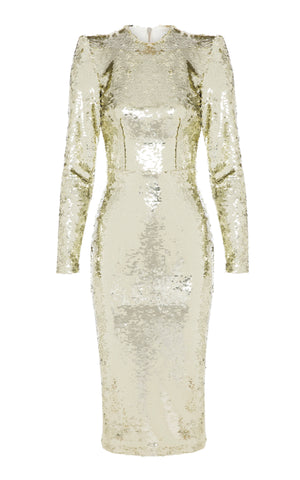 Elisa Sequin Lady Dress