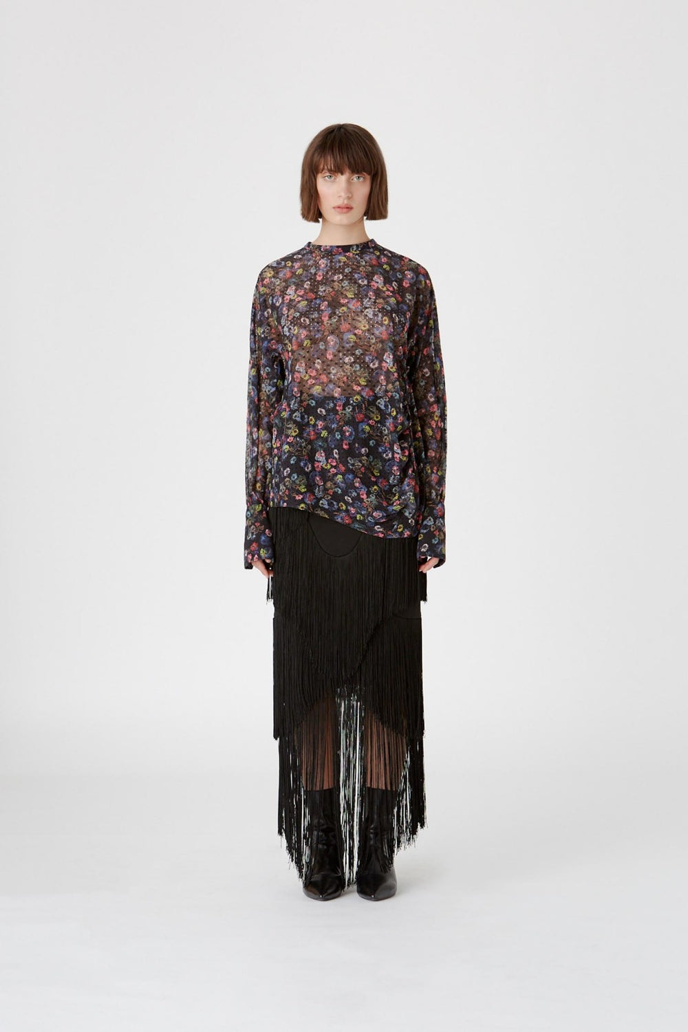 The Paloma Top in Paloma Print by CAMILLA AND MARC