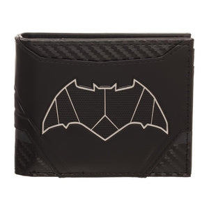 Batman Chrome Patch Bi-fold Wallet