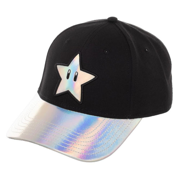 Super Mario Shiny Star Ball Cap