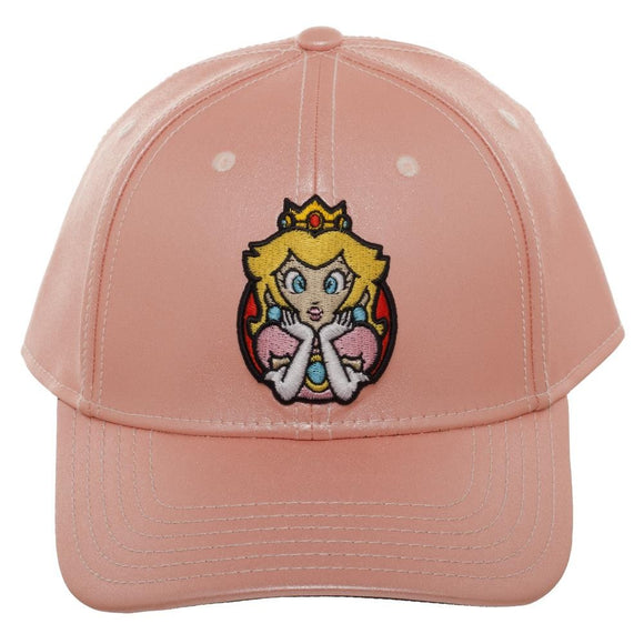 Super Mario Princess Peach Glitter Hat