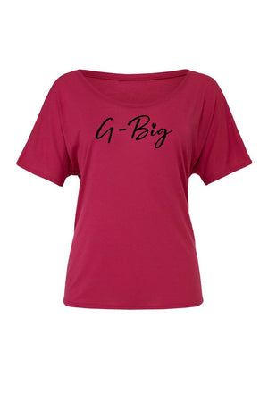Big Little Hearts Shirt - Bella Slouchy Scoop Neck Short Sleeve, Ladies, Blank, - Sunny and Southern,